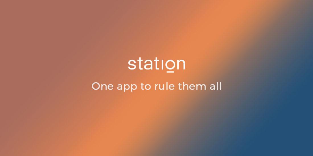 Station - Une application pour tout contrôler